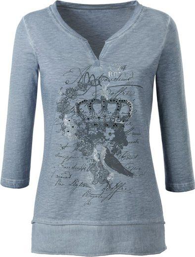 Classic Inspirationen Shirt aus reiner Baumwolle