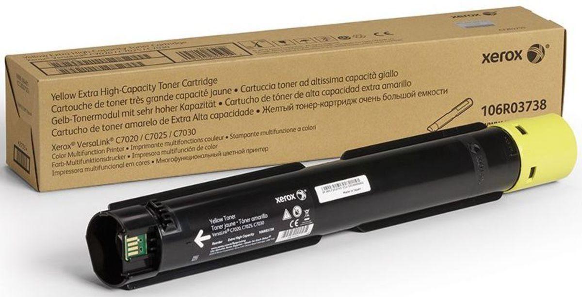 Xerox Toner »VersaLink C7020 Toner 106R03738 Gelb«