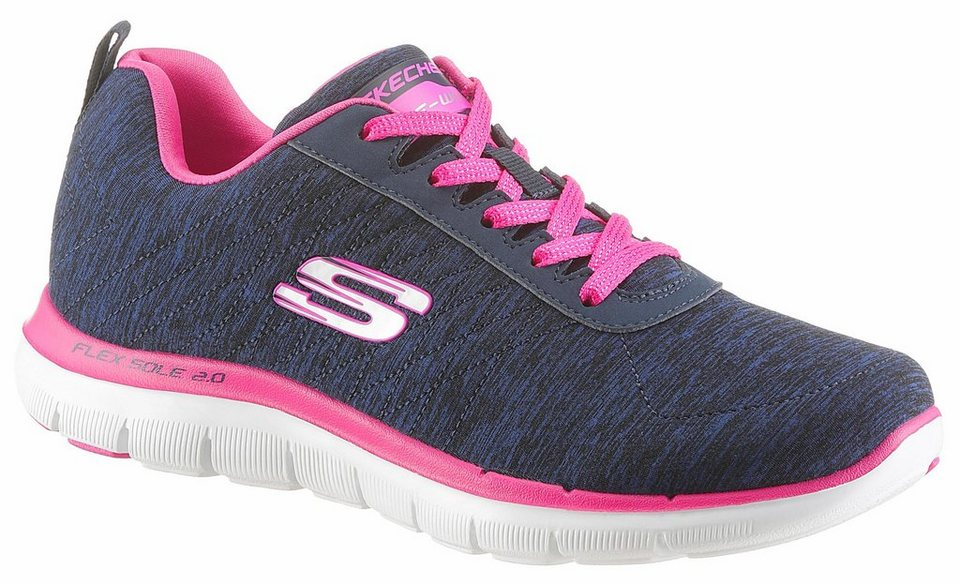 skechers flex appeal 2 0 sneaker mit memory foam online kaufen otto. Black Bedroom Furniture Sets. Home Design Ideas