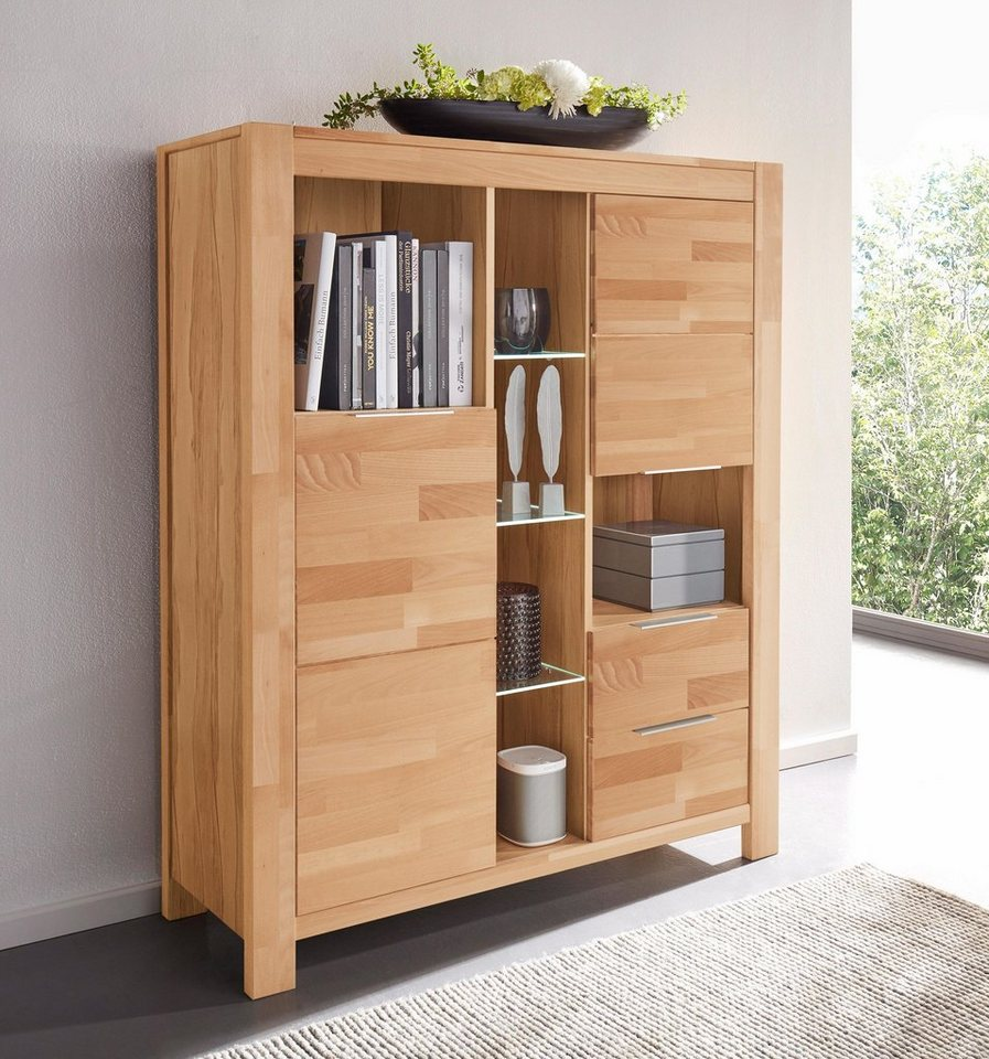 places of style highboard nena breite 125 cm otto. Black Bedroom Furniture Sets. Home Design Ideas