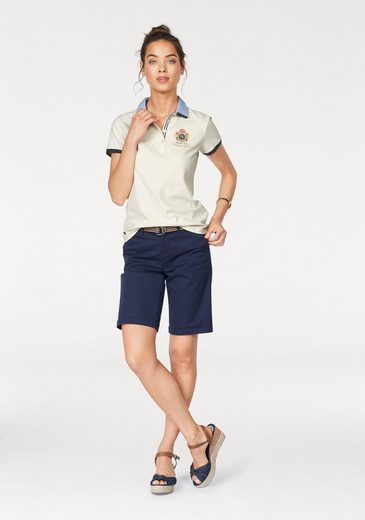 Tom Tailor Polo Team Bermudas, mit gestreiftem Gürtel