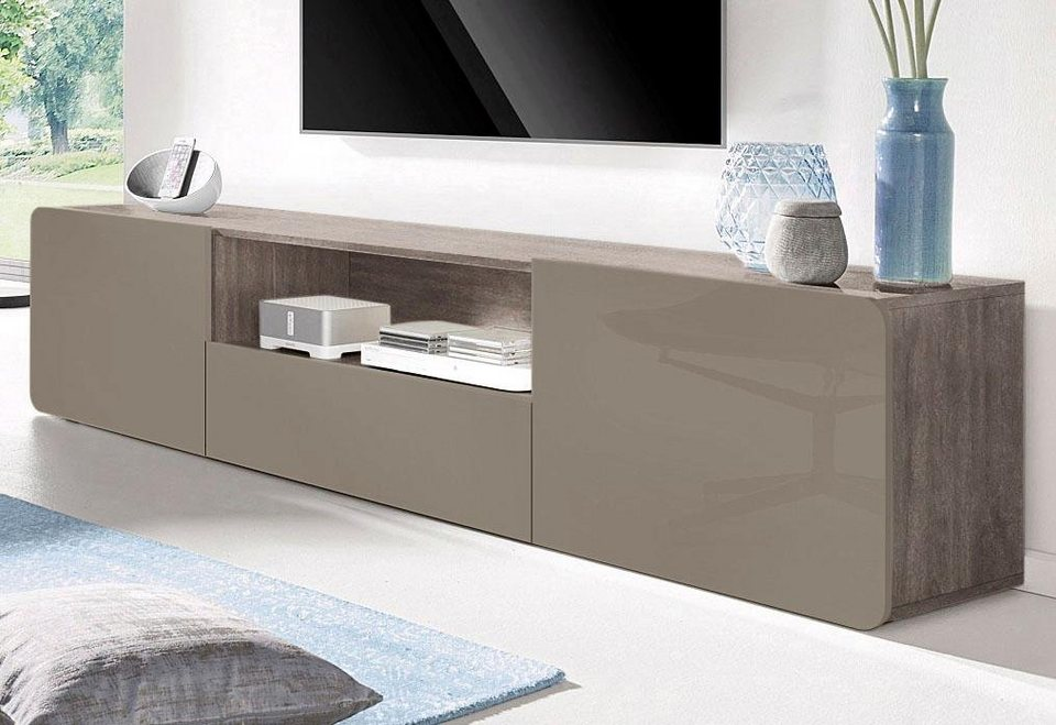 hochglanz lowboard hochglanz lowboard tvunterteil wei lackiert mit pinie with weiss hochglanz. Black Bedroom Furniture Sets. Home Design Ideas