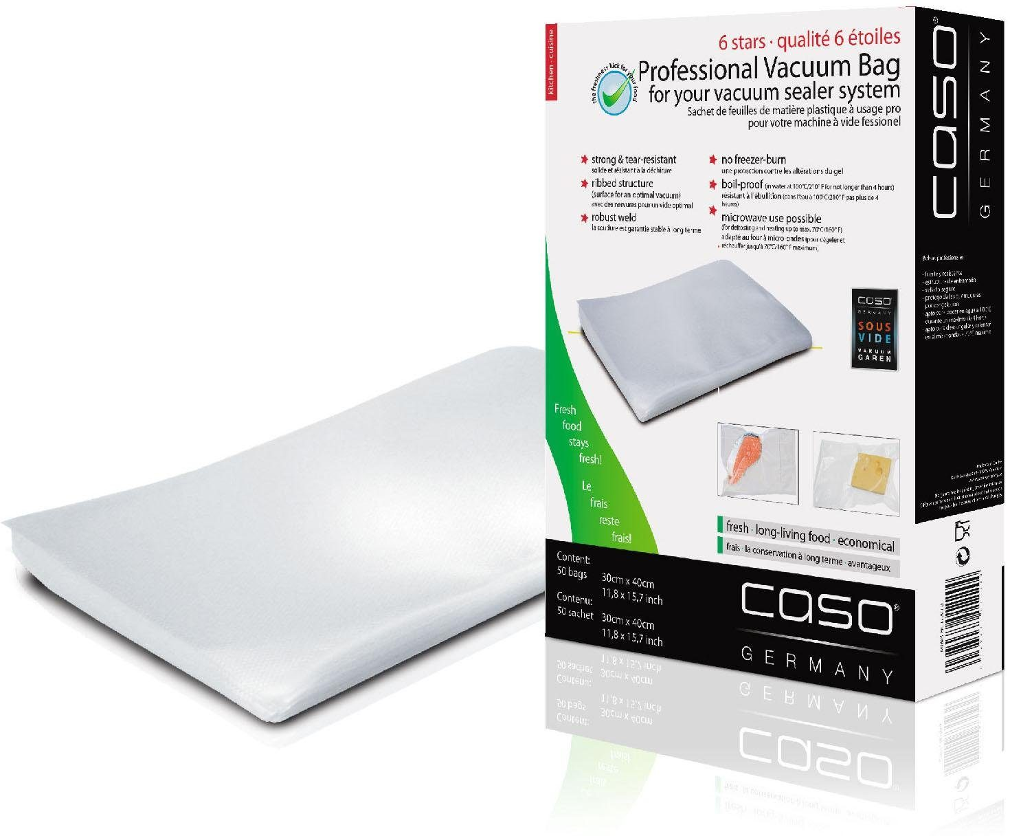 caso Design Folienbeutel 30×40, 50 Stück kaufen  OTTO ~ Entsafter Caso