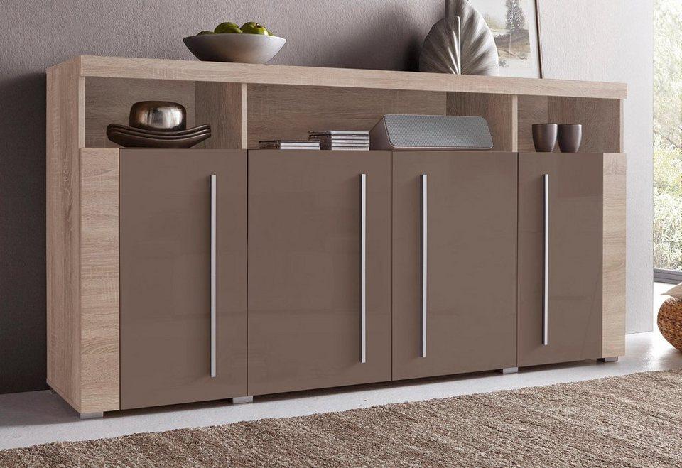 sideboard breite 182 cm pflegeleichte oberfl chen online kaufen otto. Black Bedroom Furniture Sets. Home Design Ideas