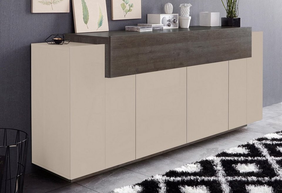 tecnos sideboard asia breite 200 cm kaufen otto. Black Bedroom Furniture Sets. Home Design Ideas