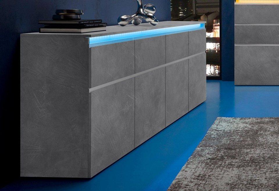 Tecnos Sideboard Breite 240 Cm Online Kaufen Otto