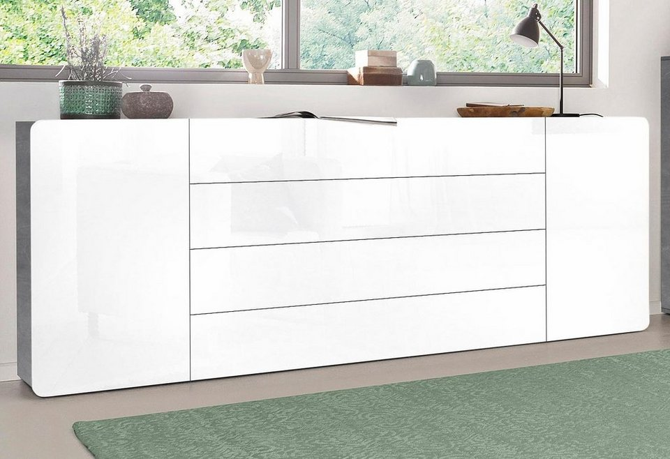 tecnos sideboard botero breite 240 cm kaufen otto. Black Bedroom Furniture Sets. Home Design Ideas
