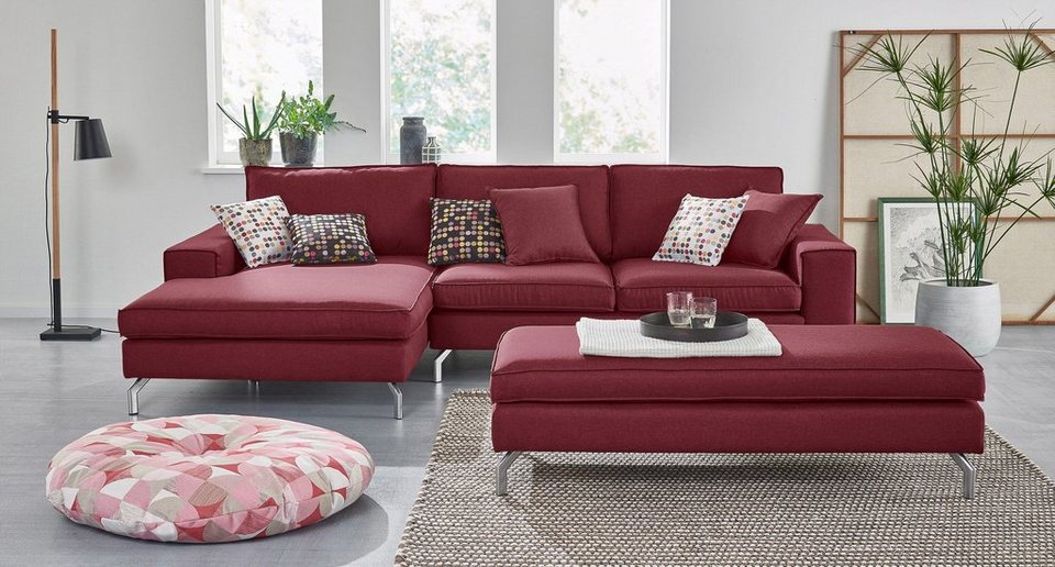 max winzer polsterecke mit recamiere florian mit. Black Bedroom Furniture Sets. Home Design Ideas