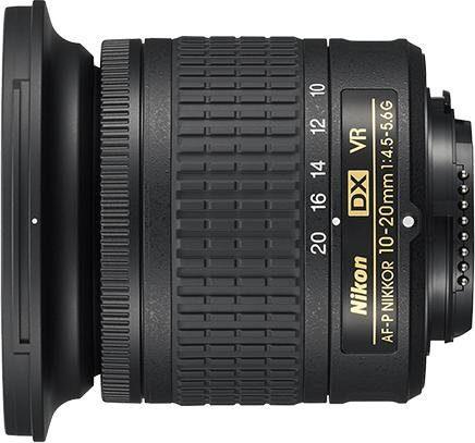Nikon »AF-P DX NIKKOR 10-20 mm f/4.5-5.6G VR« Objektiv