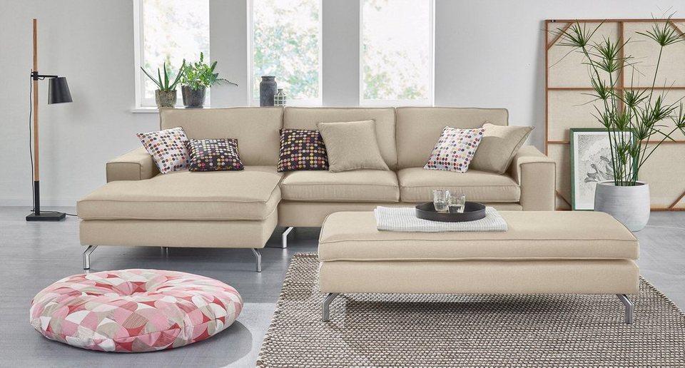 sofa mit recamiere beautiful das ecksofa mit recamiere links und mit steckrcken gegen mehrpreis. Black Bedroom Furniture Sets. Home Design Ideas