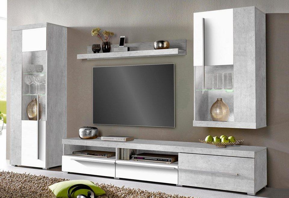 wohnwand fr kleine rume wohnideen kleine raeume beige weiss schmal schraenke with wohnwand fr. Black Bedroom Furniture Sets. Home Design Ideas