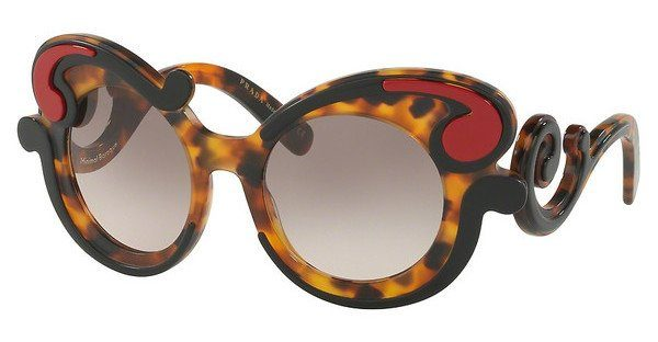 PRADA Damen Sonnenbrille »MINIMAL BAROQUE PR 23NS«