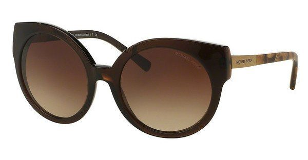 MICHAEL KORS Michael Kors Damen Sonnenbrille »ADELAIDE I MK2019«, braun, 311613 - braun/braun