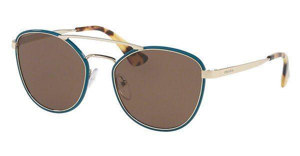 PRADA Prada Sonnenbrille » PR 63TS«, braun, UAO0A7 - braun/grau