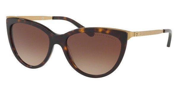 Ralph Lauren Damen Sonnenbrille » RL8160«, schwarz, 500187 - schwarz/grau