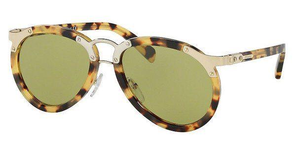 PRADA Prada Herren Sonnenbrille » PR 01TS«, braun, 7S04K2 - braun/grün