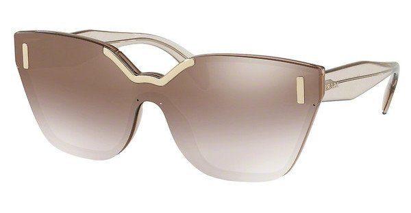 PRADA Prada Damen Sonnenbrille » PR 16TS«, braun, VIQ6S1 - braun/braun