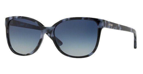 DKNY Damen Sonnenbrille » DY4129«, blau, 37444L - blau/blau