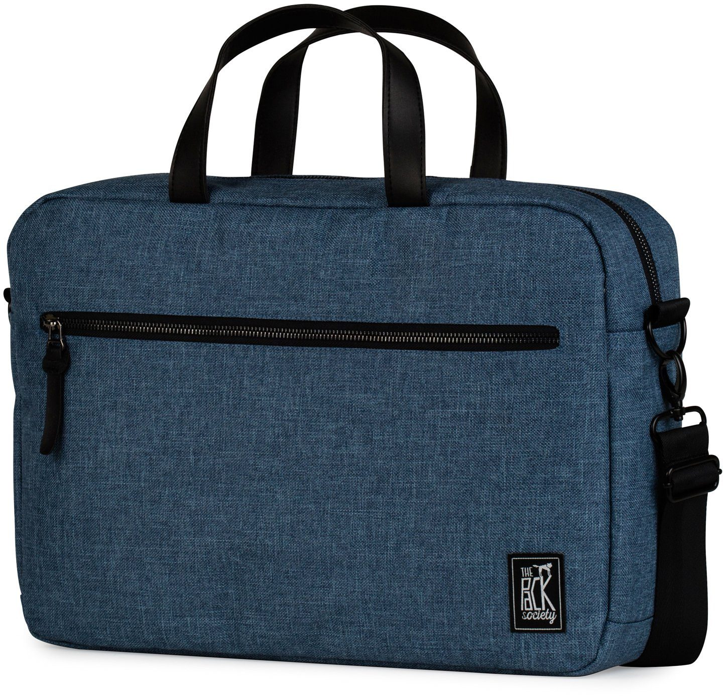 The Pack Society Laptoptasche, »Reporter Capsule, light blue duo tone«