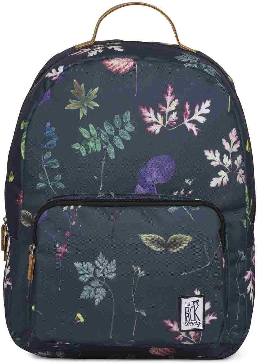 The Pack Society Rucksack, »Classic Backpack, dark floral«