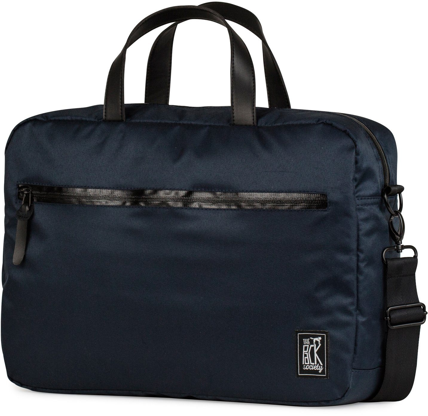 The Pack Society Laptoptasche, »Reporter Capsule, solid dark blue«