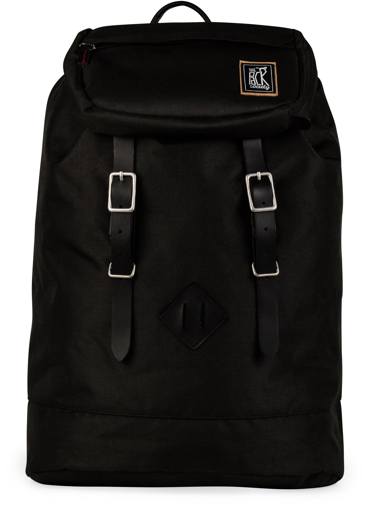 The Pack Society Rucksack, »Recycled PET Capsule Premium, black fabric«