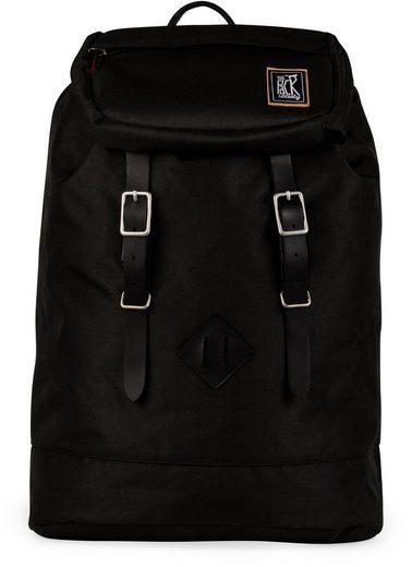 The Pack Society Rucksack, Recycled Pet Capsule Premium, Black Fabric