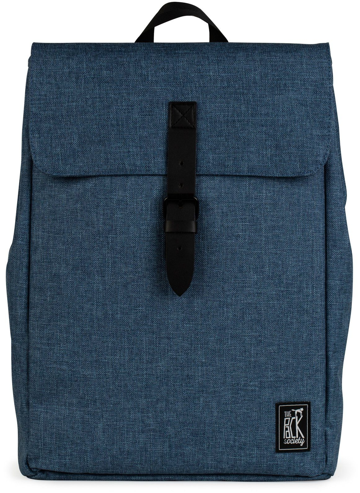 The Pack Society Rucksack, »Square Backpack Capsule, light blue duo tone«