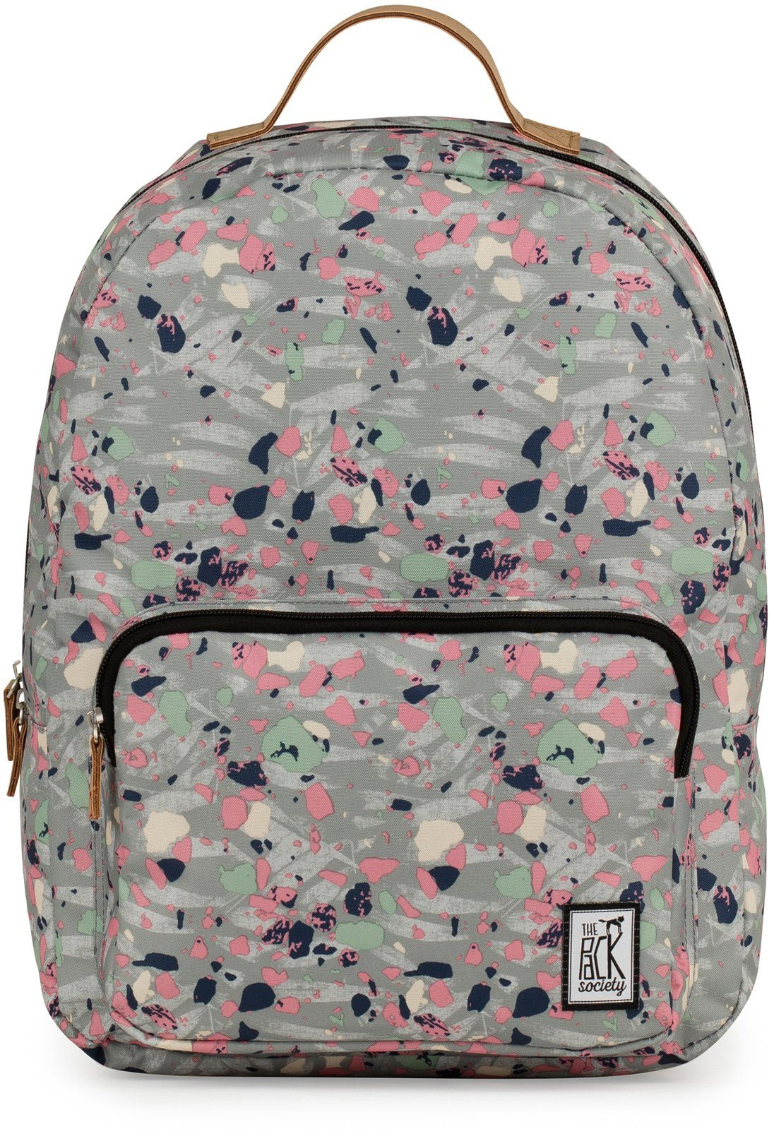 The Pack Society Rucksack, »Classic Backpack, grey speckle«