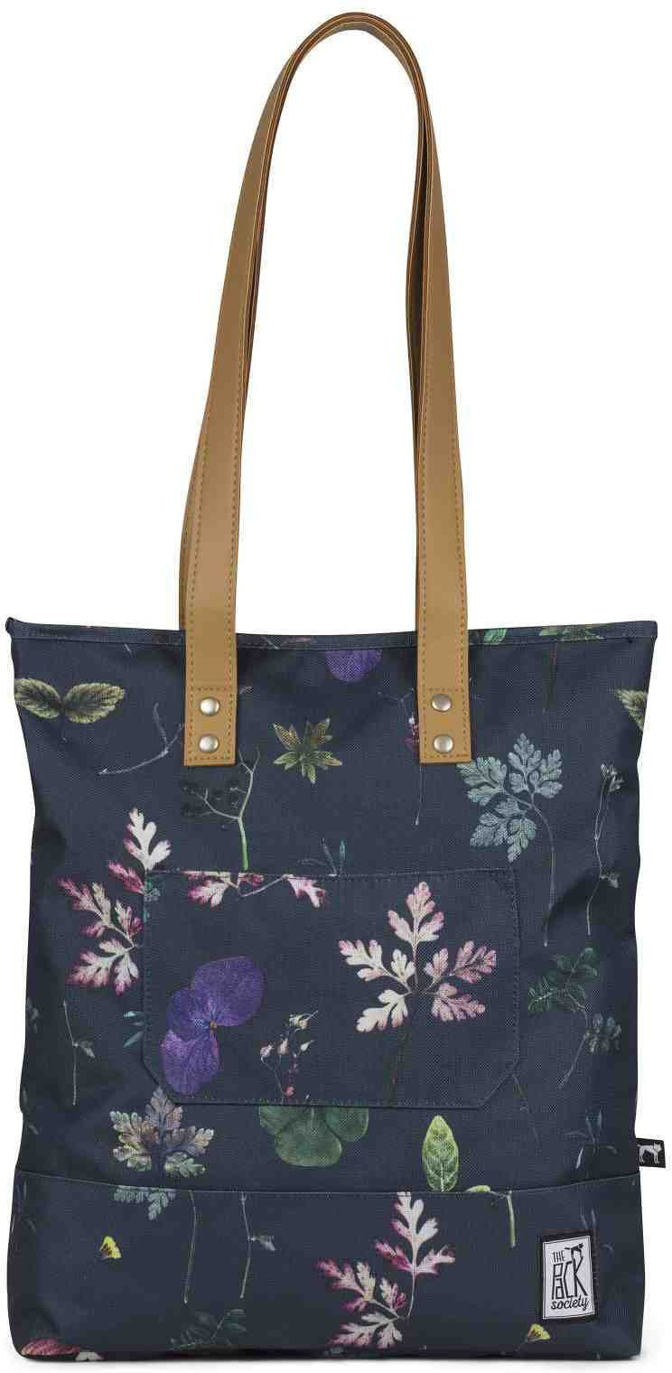 The Pack Society Handtasche, »Shopper Cool Prints, dark floral allover«