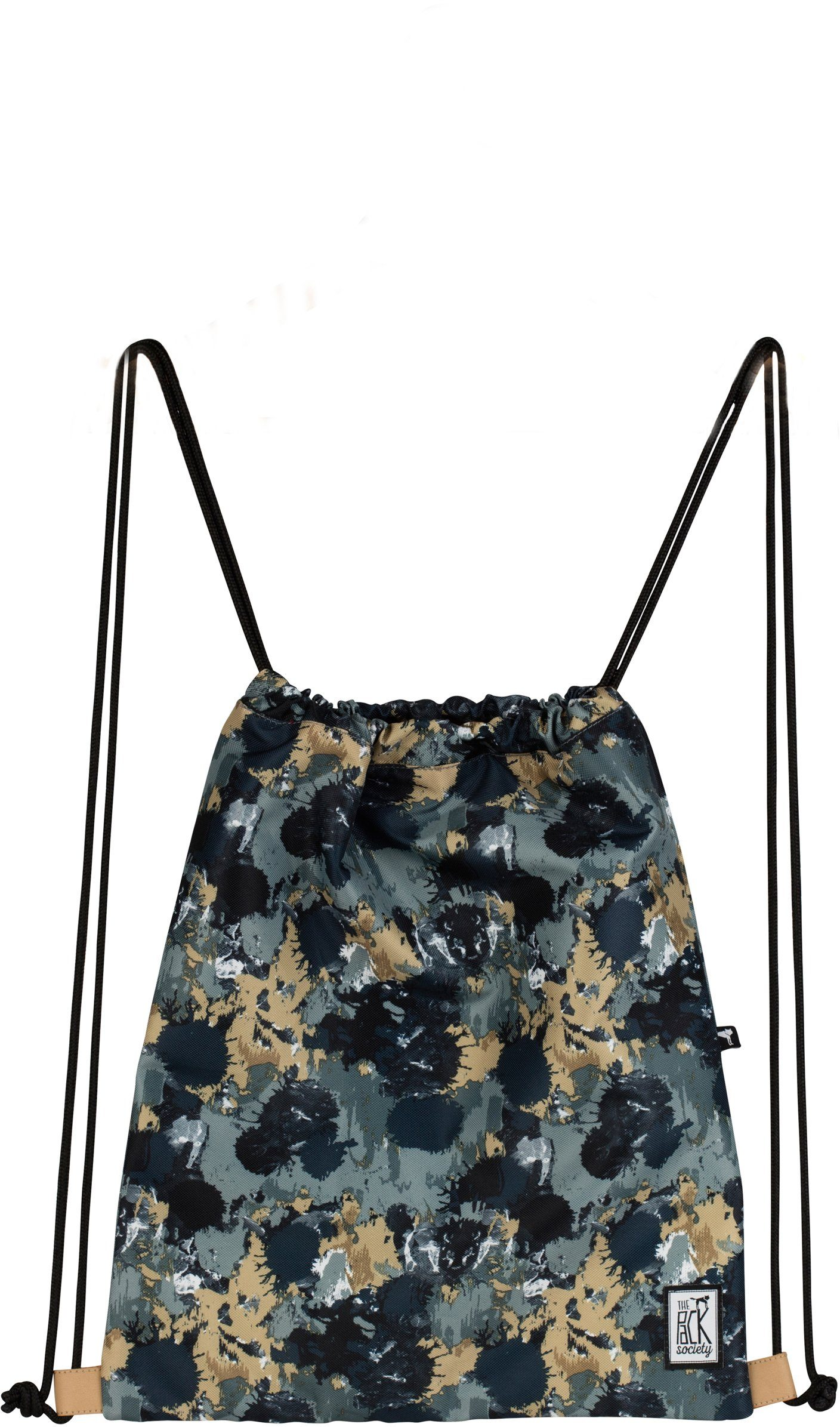 The Pack Society Turnbeutel, »Gymsack Cool Prints, grey camo allover«
