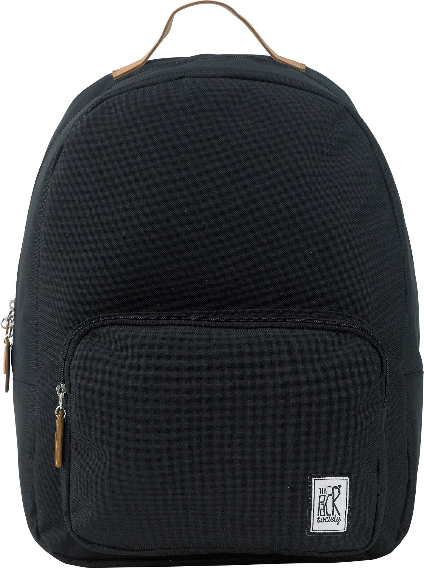 The Pack Society Rucksack, »Classic Backpack, solid black«