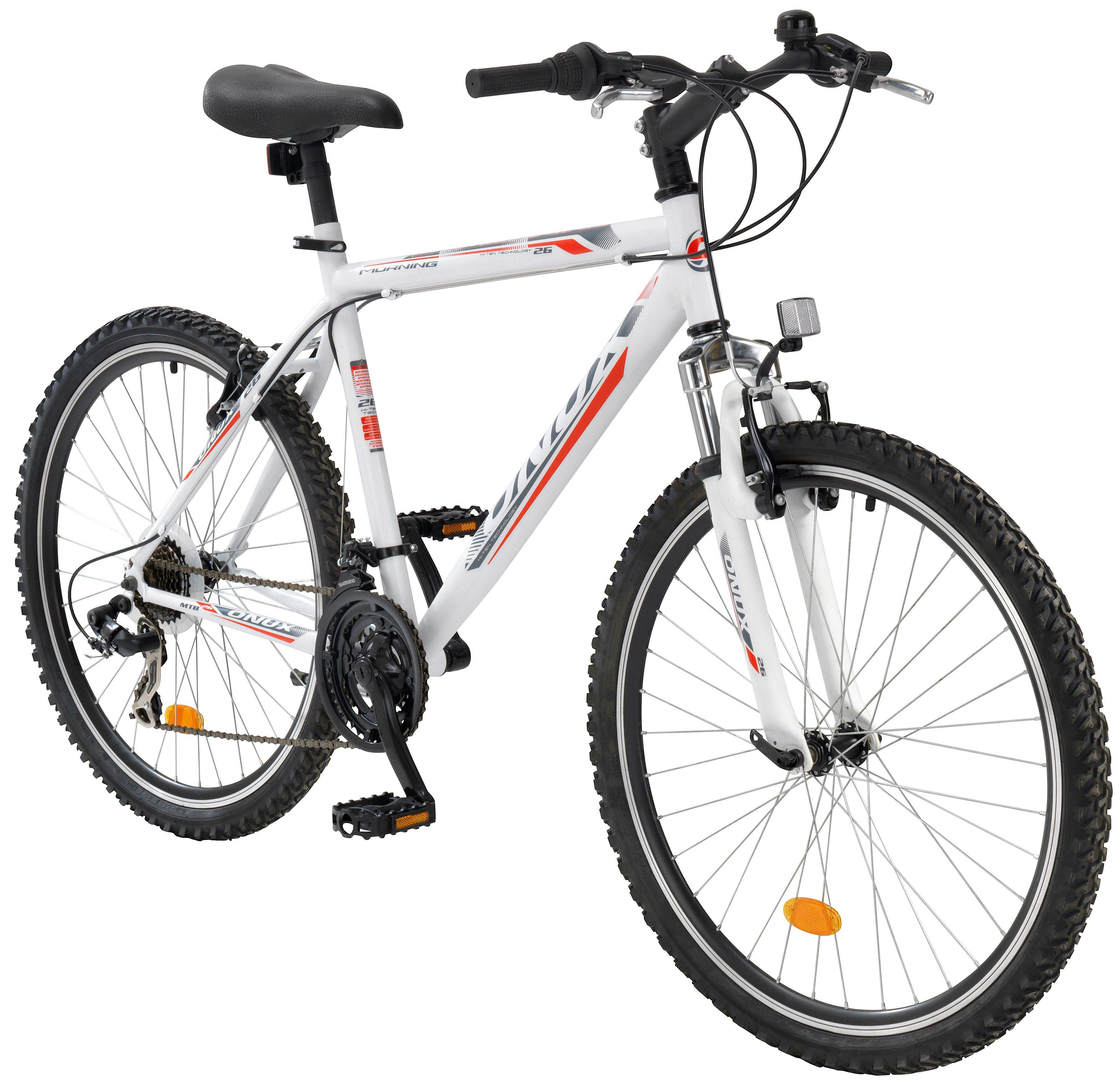 ONUX Mountainbike »Morning«, 28 Zoll, 21 Gang, V-Bremsen