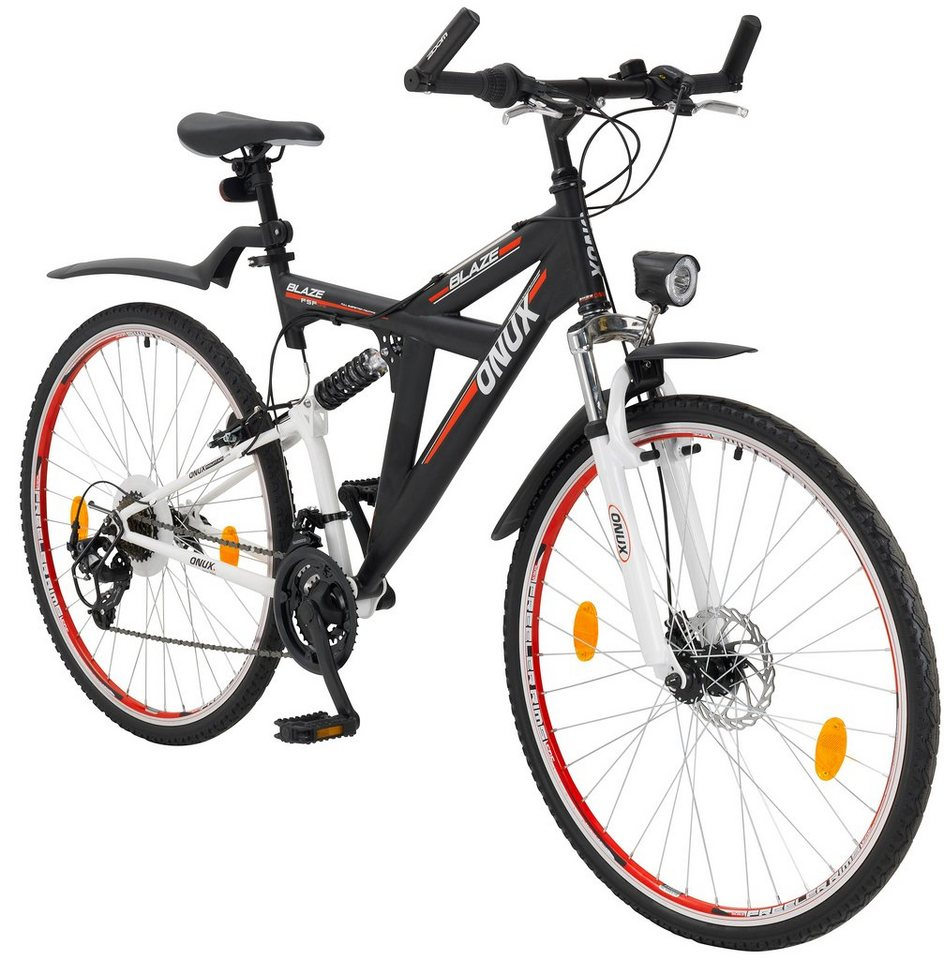 onux mountainbike blaze 28 zoll 21 gang v bremse. Black Bedroom Furniture Sets. Home Design Ideas