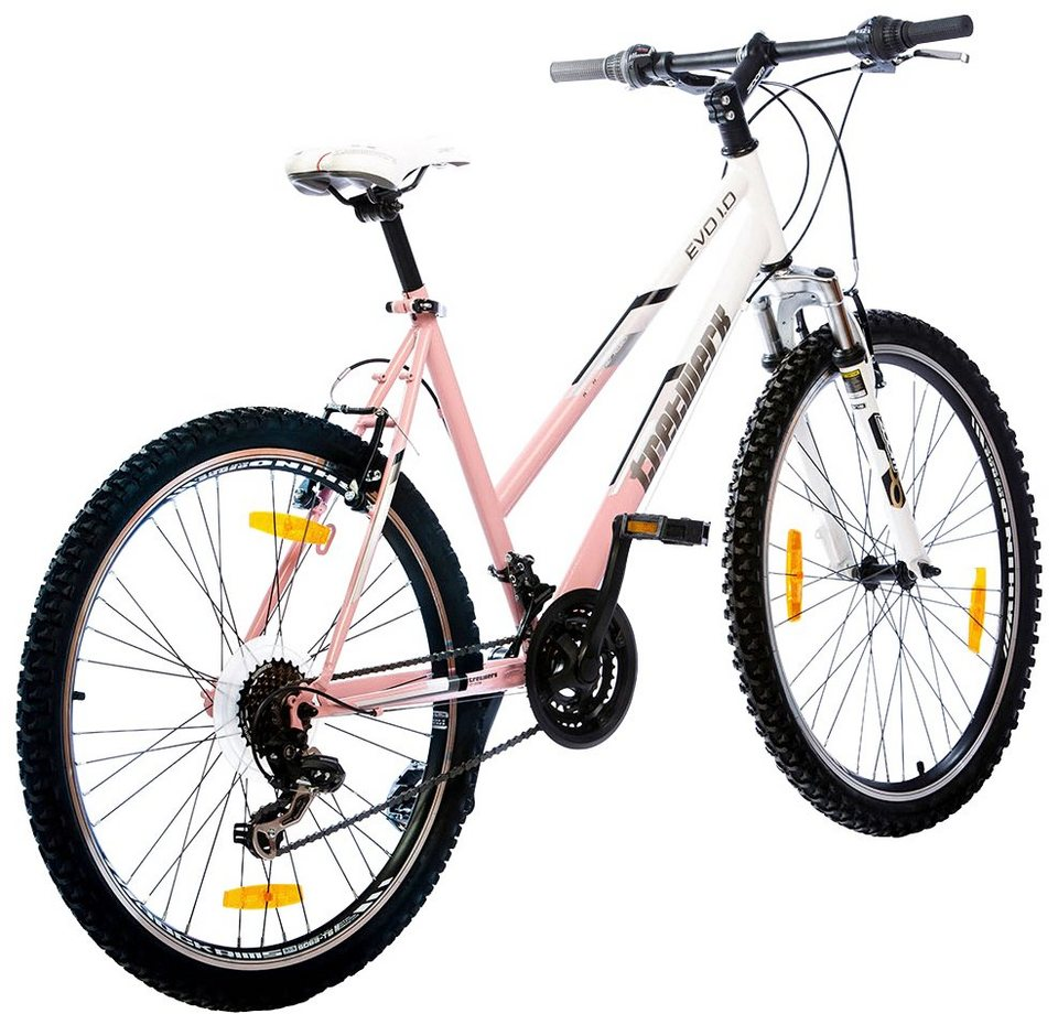 tretwerk mountainbike eva lady 26 zoll 21 gang v. Black Bedroom Furniture Sets. Home Design Ideas