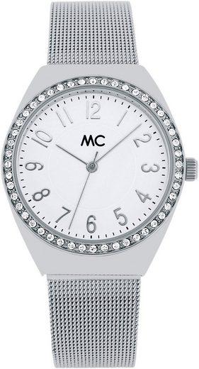 MC Damenuhr mit Metallgehäuse