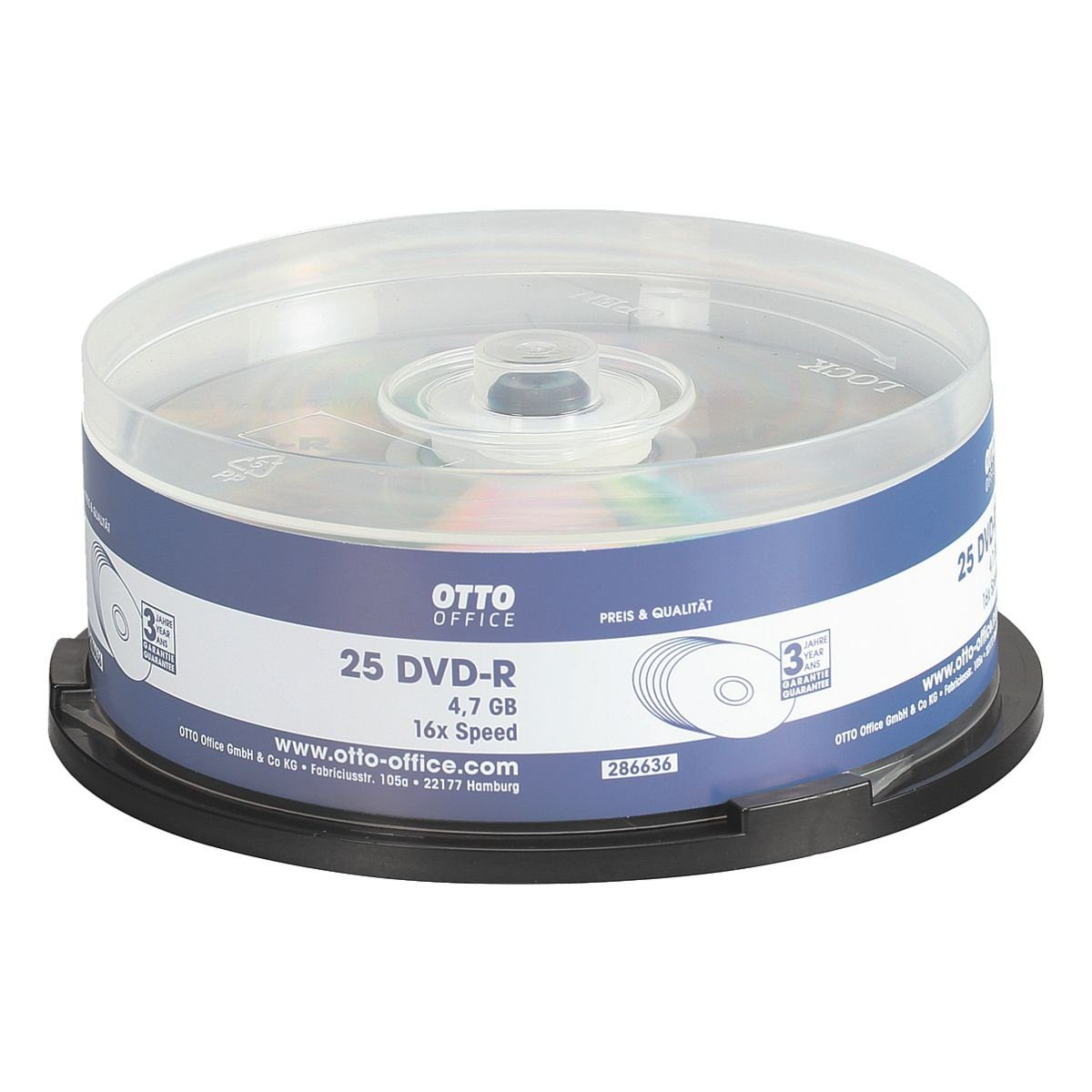 OTTOOFFICE STANDARD DVD-Rohlinge »DVD-R«