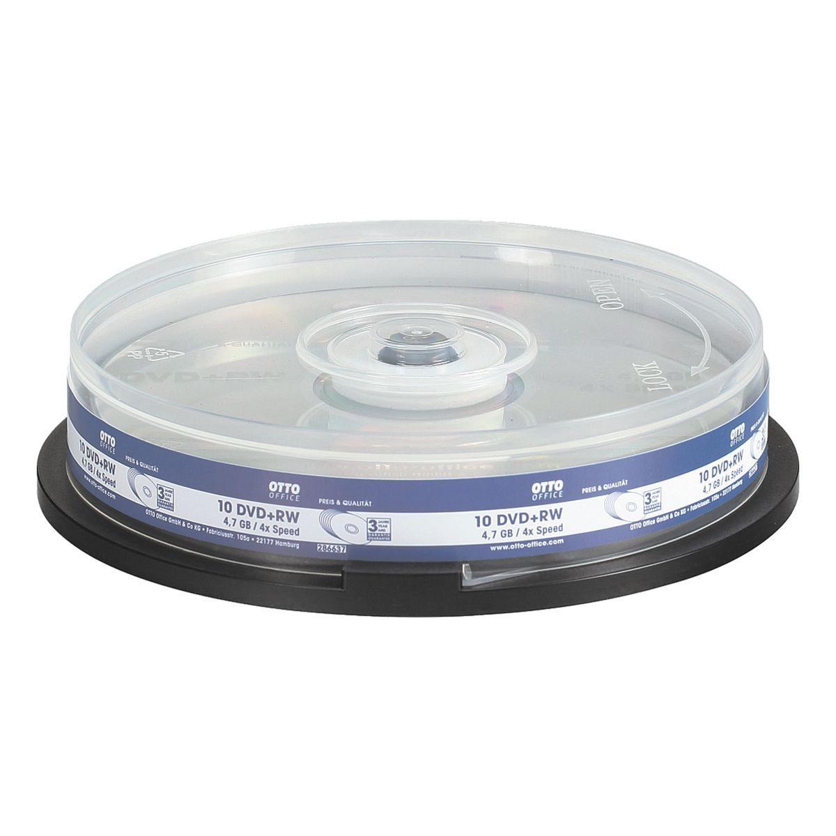 OTTO Office Standard DVD-Rohlinge , 10er Pack »DVD+RW«