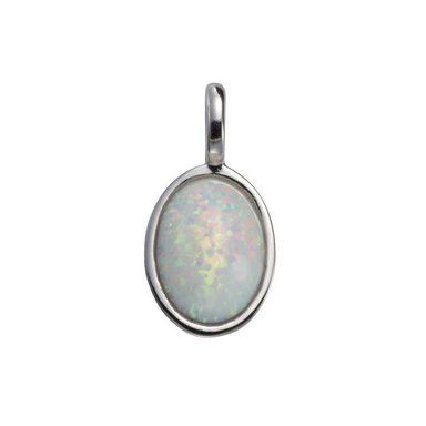 VIVANCE Anhänger »925/- Sterling Silber mit Opal«
