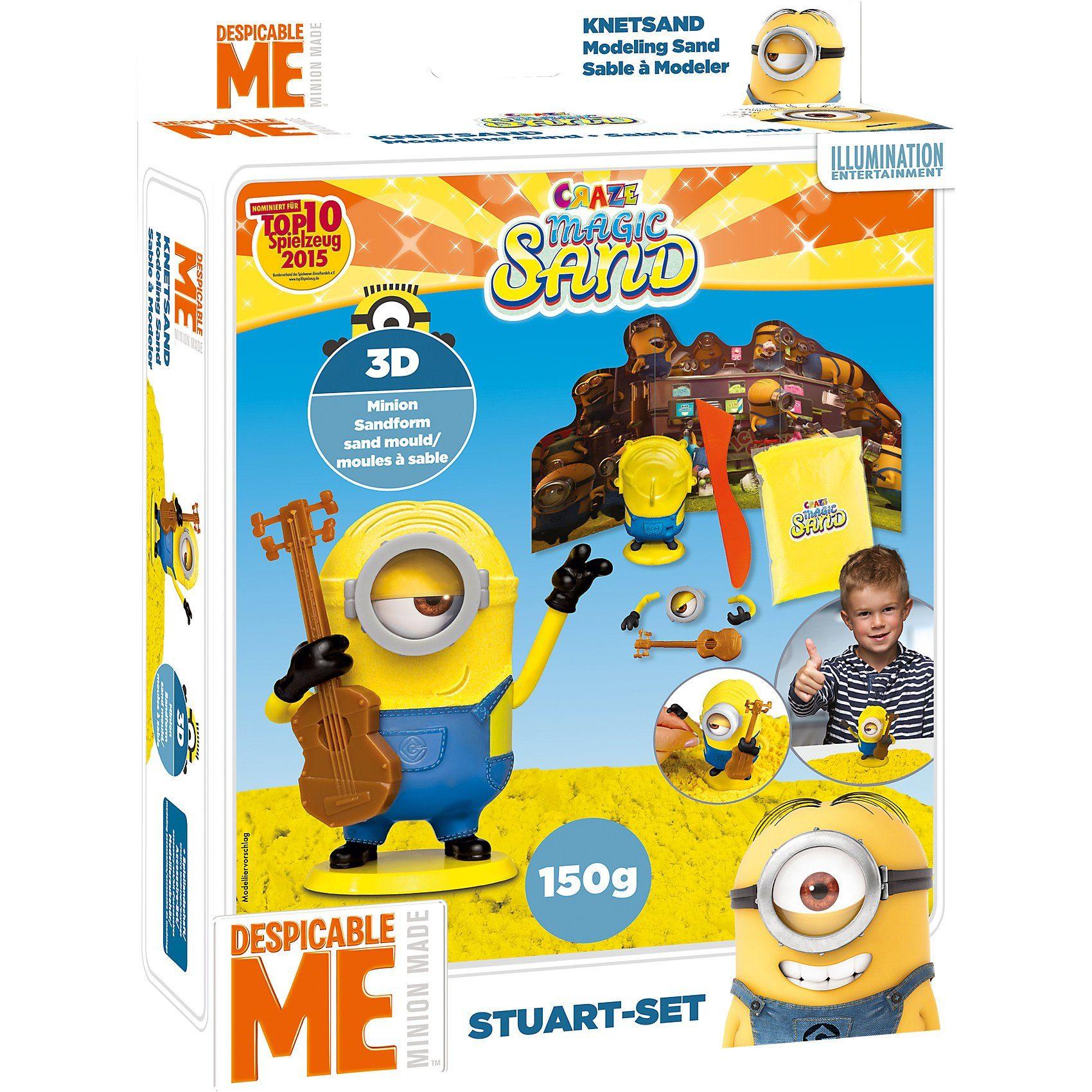 CRAZE Magic Sand Minions Playset Stuart