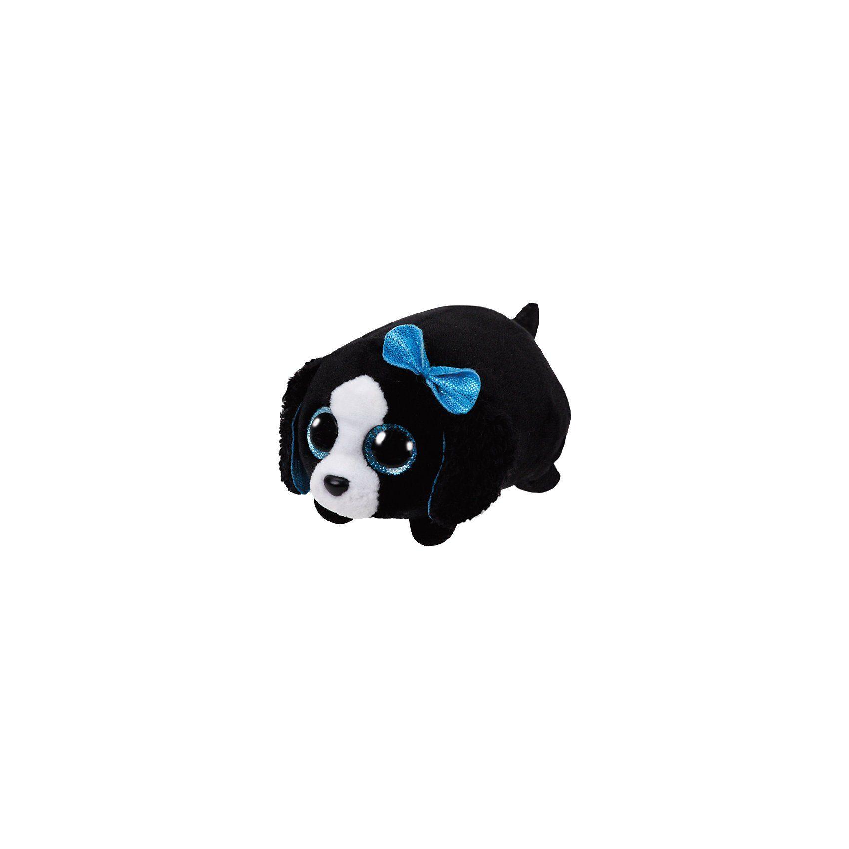 Ty Teeny s Hund Marci schwarz/weiss, 10 cm