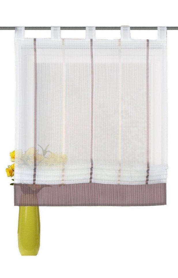 raffrollo irondale home wohnideen mit schlaufen mit. Black Bedroom Furniture Sets. Home Design Ideas