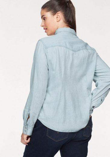 Levi's® Jeansbluse Knöpfe in Perlmuttoptik