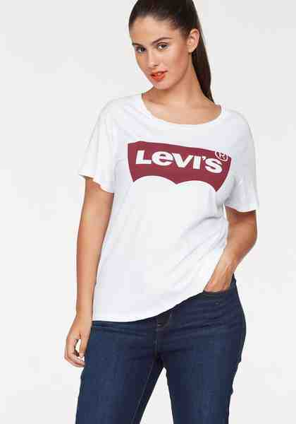 Levi's® Plus T-Shirt »Batwing« Logoprint