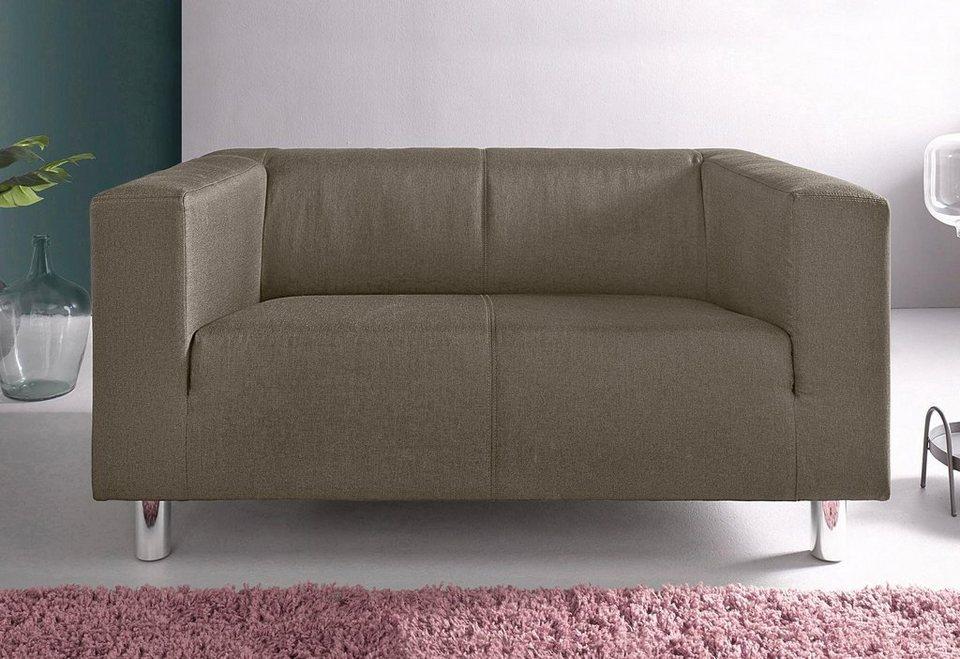INOSIGN 2-Sitzer, 2er Sofa in geradliniger Optik online ...