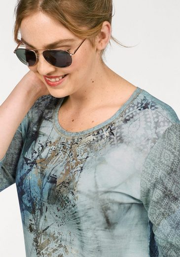 VIA APPIA DUE 3/4-Arm-Shirt