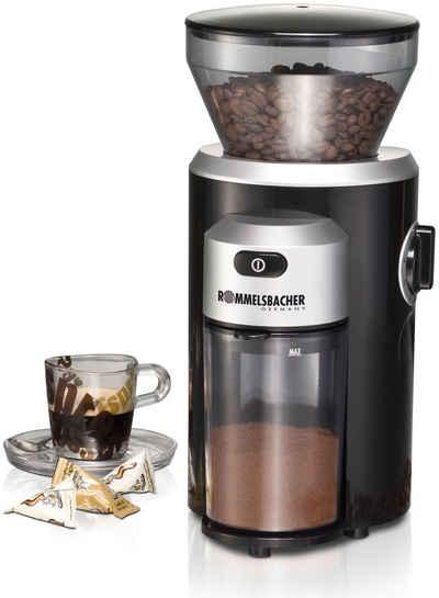 Rommelsbacher Kaffeemühle EKM 300, 150 W, Kegelmahlwerk, 220 g Bohnenbehälter