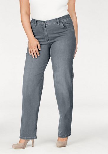 KjBRAND Straight-Jeans Babsie, Super Stretch