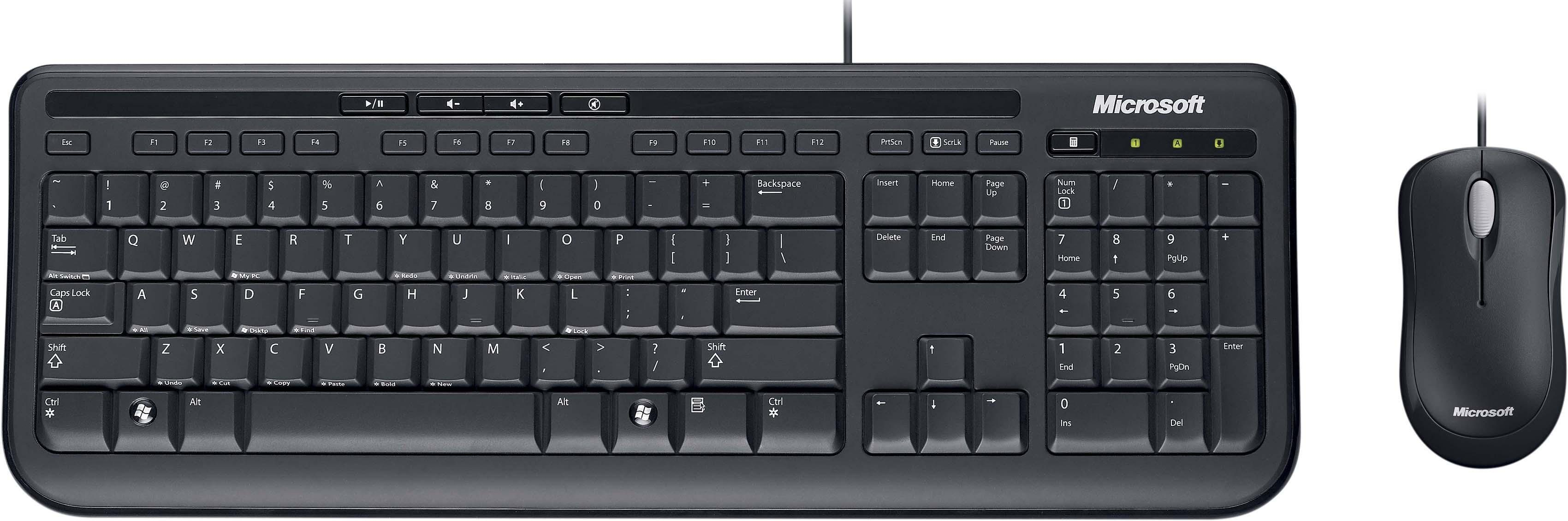 Microsoft Wired Desktop 600 Tastatur