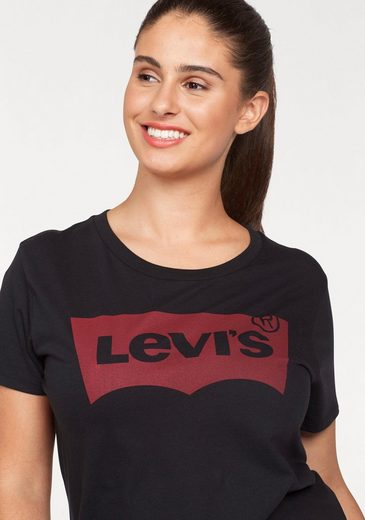 Levi's® T-Shirt Perfect Tee Batwing, mit typischem Frontprint